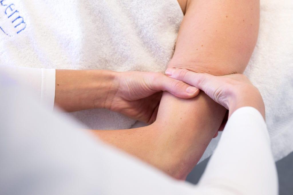 oedeemtherapie lymfedrainage arm