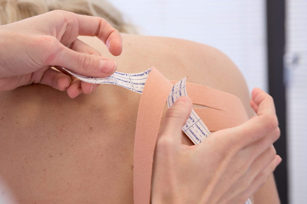 oedeemtherapie lymftaping