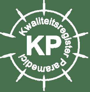 wit logo kwaliteitsregister paramedici