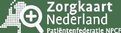 wit logo zorgkaart nederland